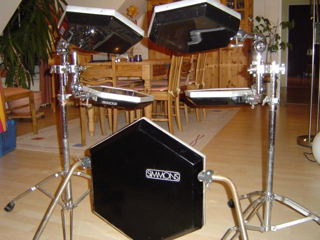 The History Of The Electronic Drum Set Vintage Electronic Drum Set
